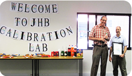 Calibration Laboratory Johannesburg: Nov 2012