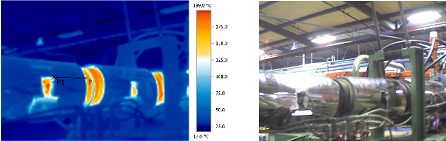 Thermo graphic report with conventional unitemp heater bands