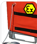 IBC heaters - Ex rated for use in hazardous areas
