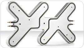 6-8 cavity standard hotrunner manifold by Thermoplay