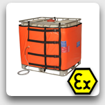 Ex-rated Intermediate Bulk Container (IBC) Heater - 1000l