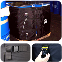 Flexible Heating Jackets for IBC's/ Totes
