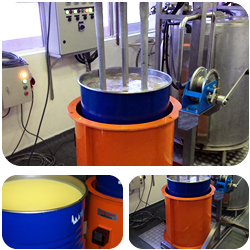 Induction Drum Heater for cooking oils