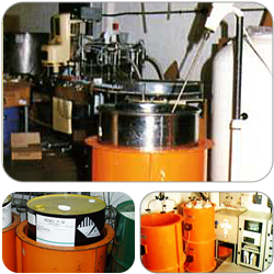 Induction Drum Heater for cosmetics industry