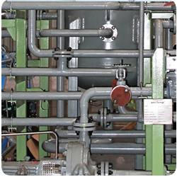 Oilskid for the petrochemical industry