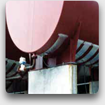 Heating panels for hoppers and tanks