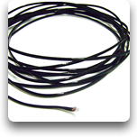 Sensor Cable Type 'J': PTFE insulated cable, 250°C max