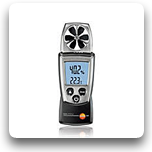 testo 410: Air Velocity, Temperature & Humidity Meter