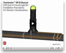 Terminator DE-B Beacon Installation Procedures