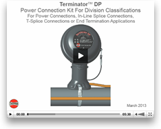 Thermon Terminator DP: Installtion Procedure, video