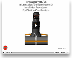 Thermon Terminator DS/ DE Installation Procedures