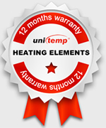 12 month warranty: unitemp Heater Bands