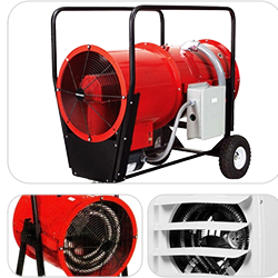 Blower heaters, forced air heaters