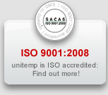 ISO 9001:2008 - unitemp is ISO accredited, find out more!