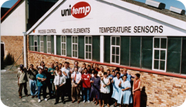 Moving into bigger premises: unitemp Lansdowne
