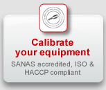 Unitemp's Calibration Lab: SANAS accredited, ISO and HACCP compliant calibration, qualification & validation